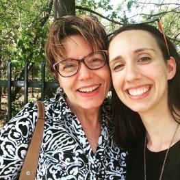 Caught up and got lunch with my favorite Emmanuel professor, Dr. Lisa Stepanski
