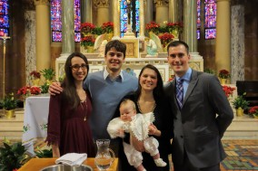 Baptism of our godson