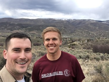 Boulder with Dylan