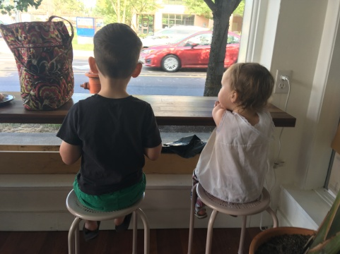 Local bakery, favorite seat